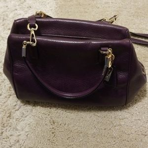 Coach mini-satchel
